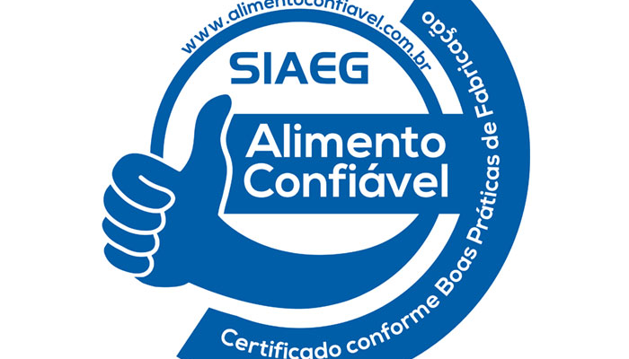 Certificado de alimentos de confianza